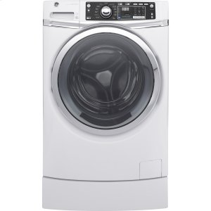 GE ®4.9 Doe Cu. Ft. Capacity Rightheight™ Front Load Energy Star® Washer With Steam