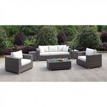 Somani Sofa + 2 Chairs + 2 End Tables + Coffee Table