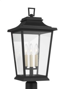 3 - Light Outdoor Post Lantern