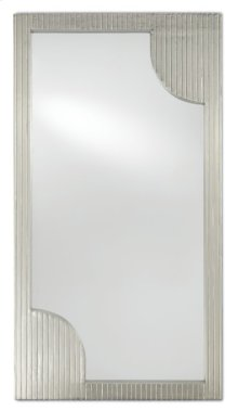 Morneau Silver Rectangular Mirror