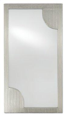 Morneau Silver Rectangular Mirror
