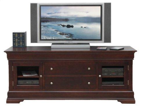 "Phillipe 74"" HDTV Cabinet w/Fireplace"