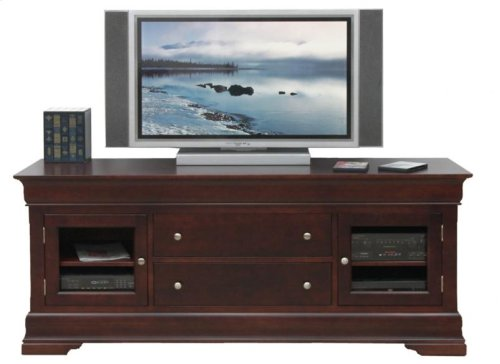 "Phillipe 74"" HDTV Cabinet With Hutch"