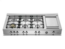 48-6 Brass Burners Rangetop