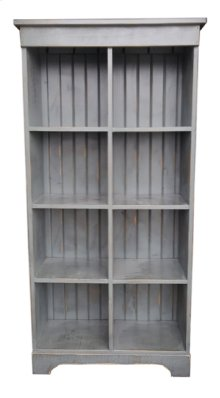 8-Cube Cubby Bookcase