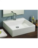 Box 50 Vessel Lavatory in White Product Image