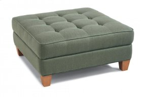 Nash Fabric Square Cocktail Ottoman
