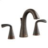 Fluent Two-Handle Widespread Bathroom Faucet With Red/blue Indicators - Oil Rubbed Bronze