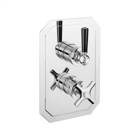Waldorf 1000 Thermo Valve Trim (1 Outlet) - Polished Nickel