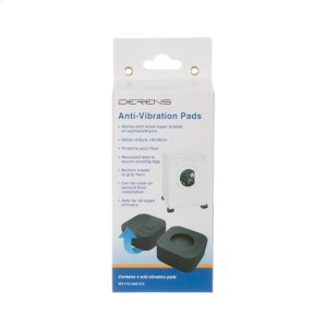 Washer/Dryer Anti-Vibration Pads - Contains 4 pads -