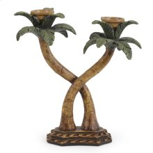 Palm Trees Candle Holder
