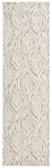 Hollywood Shimmer Ki100 Ltgry Runner 2'3'' X 8'