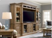Home Entertainment Wall System - Oatmeal