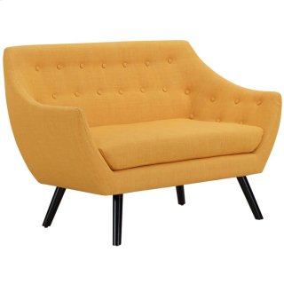 Allegory Loveseat in Mustard