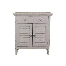CC-CHE059LD-AG  Cottage Shutter Cabinet