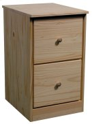 Pine File Drawer Pedestal Product Image