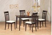 Mason 5 Pc Dining Set Product Image