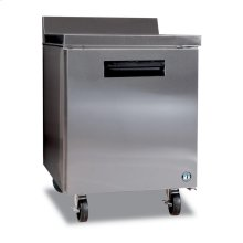 Freezer, Single Section Worktop with Lock