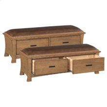 LSO 2 Drawer Prairie City Bench