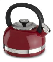 2.0-Quart Kettle with Full Handle and Trim Band - Empire Red Product Image