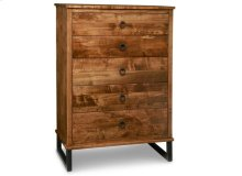 Cumberland 5 Drawer Highboy