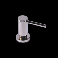 Soap/lotion Dispenser In Brushed Nickel