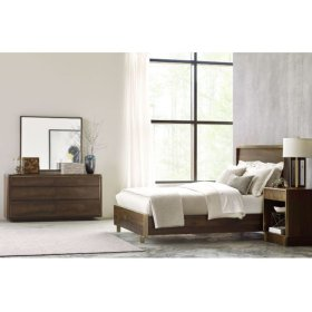 Luna Cal King Panel Bed 6/0 Complete