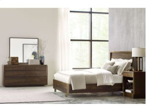 Luna Cal King Panel Bed 6/0 Complete