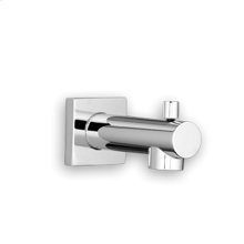 Time Square Slip-On Diverter Tub Spout - Polished Chrome