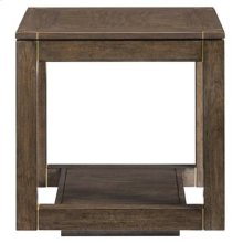 Panavista Floating Parsons End Table in Quicksilver