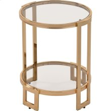 Bogdon Accent Table in Gold