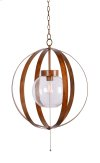 Olivia - 1 Light Outdoor Pendant