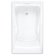 Evolution 60x32 inch Deep Soak EverClean Whirlpool - White