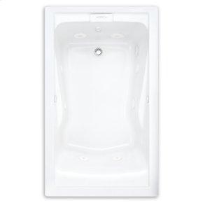 Evolution 60x32 inch Deep Soak EverClean Whirlpool - Linen