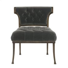 Haley Armless Chair in Antique Gold (725)