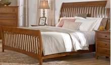 Simply Shaker Too Sleigh Bed