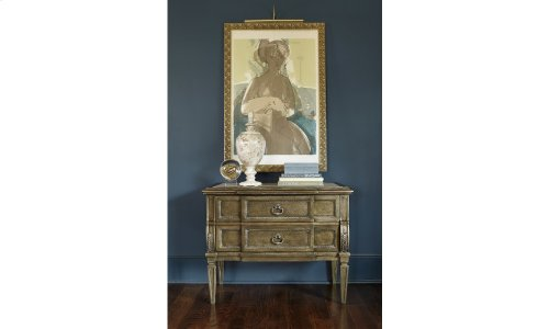 Continental Nightstand - Crackle Bronze