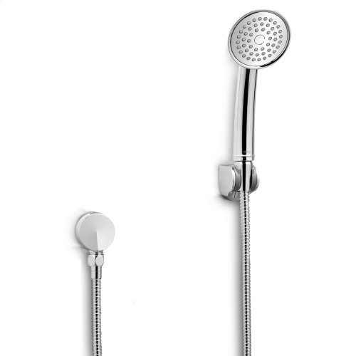 """Transitional Collection Series A Single-Spray Handshower 3-1/2"""" - 2.5 GPM - Polished Nickel"""