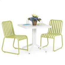 0100 Series 3PC Dining Set Apple