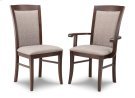 Yorkshire Padded Back Arm Chair in Leather Product Image