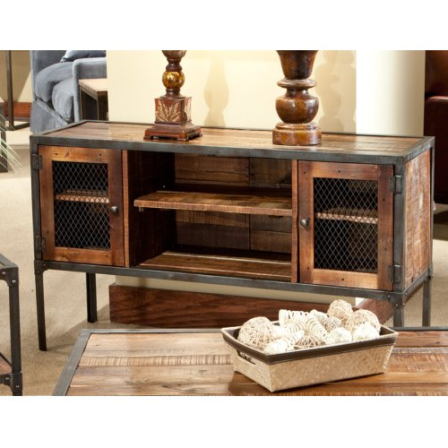 Emerald Home Laramie Sofa Table Medium Brown T4792p