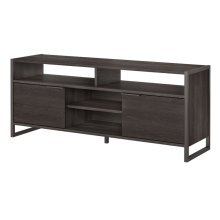 Atria Occasional TV Stand for 70 Inch TV - Charcoal Gray