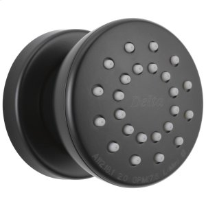 Matte Black Surface Mount Body Spray Product Image