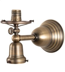 """5"""" Wide Revival Gas & Electric Wall Sconce Hardware"""