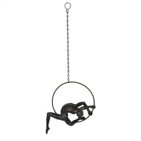 "Hanging Acrobat Sculpture 5"""
