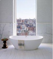 Elise  Gorgeous Luxury Bath Tub With Rolled Rim  MTI Baths