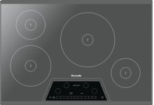 30-Inch Masterpiece® Induction Cooktop, Silver Mirror, Frameless