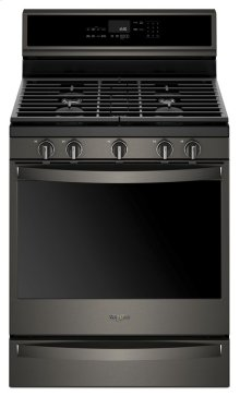 5.8 cu. ft. Smart Freestanding Gas Range with EZ-2-Lift Grates