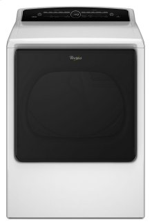 8.8 cu.ft Top Load HE Electric Dryer with Advanced Moisture Sensing, Intuitive Touch Controls