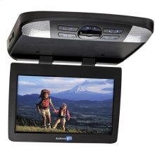 12 inch widescreen LED backlit monitor / DVD player with built-in dome lights